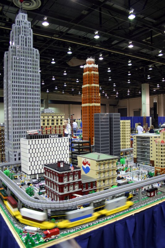 Amazing Lego Creations, Lego Downtown Detroit, Downtown Detroit