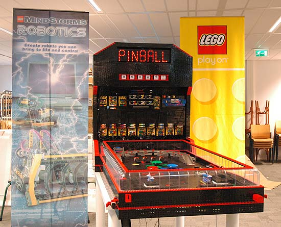 Amazing Lego Creations, Lego Pinball