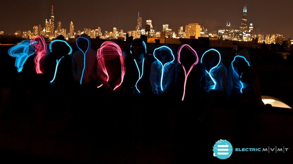 Electroluminescent Hoodies - The Way Of The Future