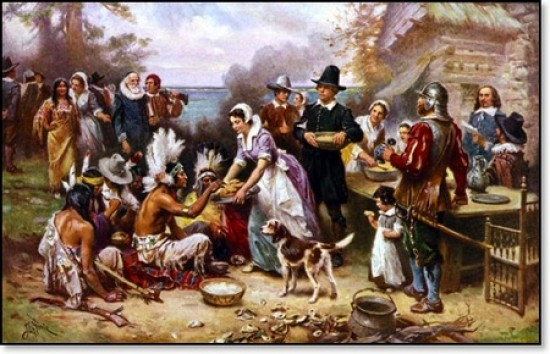 Thanksgiving Facts, First ever Thanksgiving