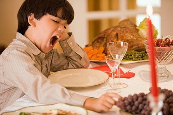 Thanksgiving Facts, amino acid L-Tryptophan, just sleep