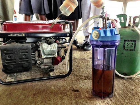 Urine Generator, Renewable Energy, Technology, energy Generator, pee powered Generator, engineering, urine-powered generator, Makers Faire Africa, africa