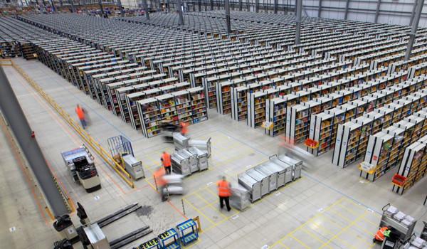 inside amazon warehouse, Amazon's Warehouse, Amazon warehouse, warehouse, rare look inside amazon ware house, amazon, online retailer, imaging, photography, photos, amazing photos, rare look, rare photos