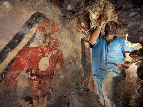 Maya Mural Contradicts Doomsday