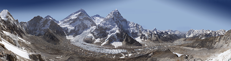 Explore Everest With This Stunning Gigapixel Photo