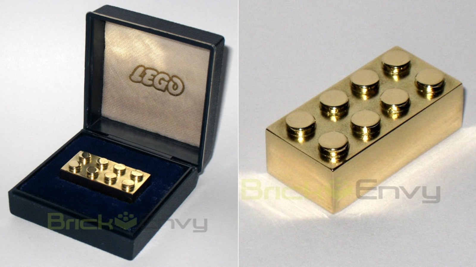 One Block To Rule Them All - The Solid Gold Lego Piece