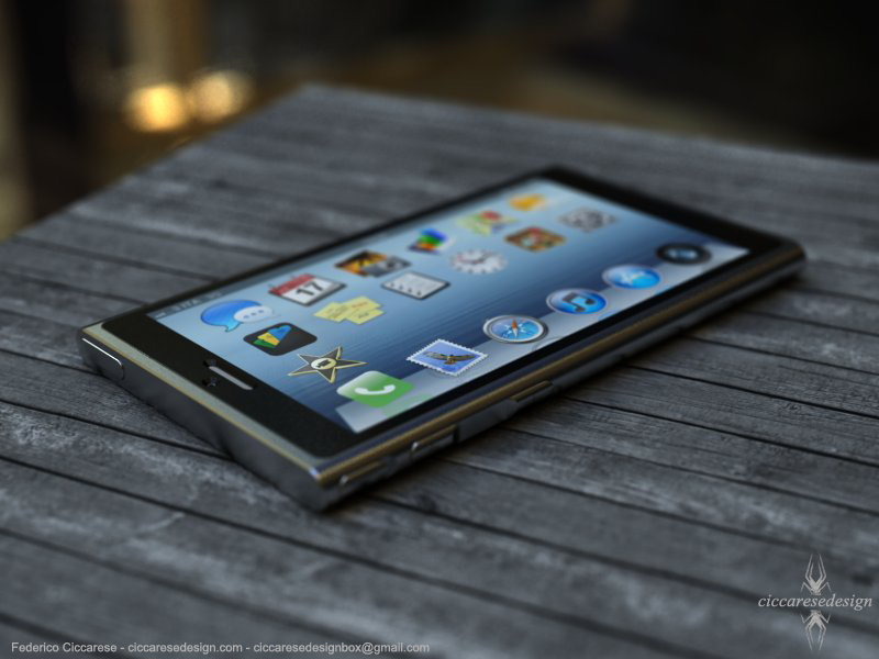 iPhone 6 Concept Surfaces On The Web - Looks Like Current Gen iPod Nano 1