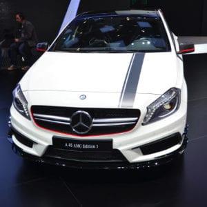 mercedes-benz, Mercedes-Benz A 45 AMG, Mercedes benz