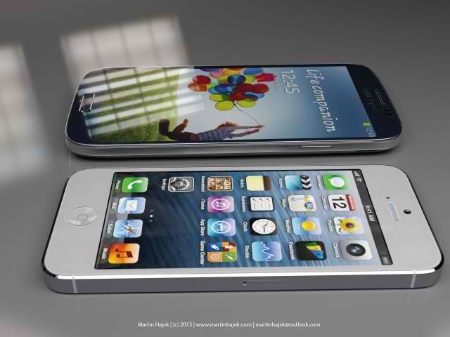 Galaxy S4 vs iPhone 5: Samsung, Apple Devices Compared In Photos 1