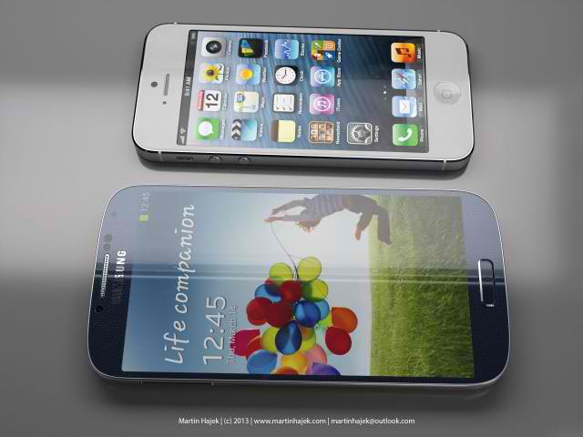 galaxy s4 vs iphone 5, galaxy s4, iphone 5