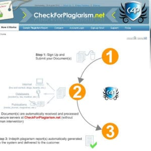 CheckForPlagiarism, Check For Plagiarism