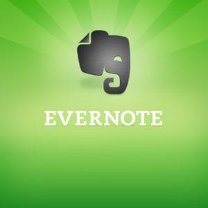 evernote, Evernote logo, logo Evernote