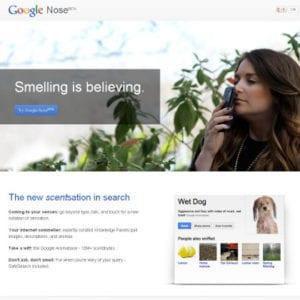 Google Nose, Google Nose prank