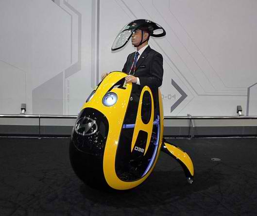 Hyundai Demos E4U Personal Mobility Vehicle