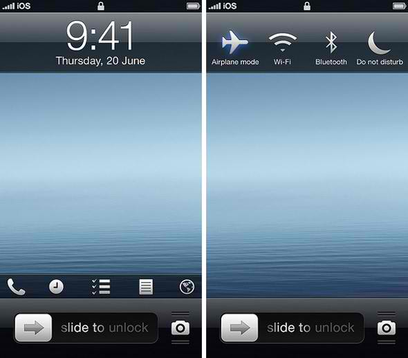 New iOS 7 Concept Offers Cooler Features But Maintains Look and Feel [VIDEO] 1