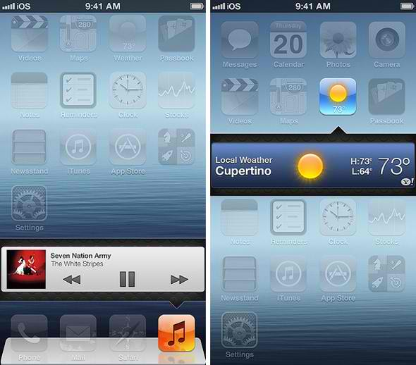 ios, ios 7, concept, apple, ios 7 concept