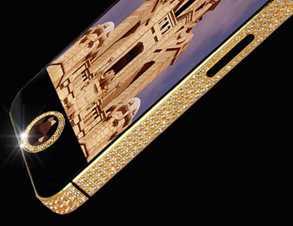 apple, iphone, iphone 5, gold iphone, diamond iphone 5, iPhone 5 Black Diamond