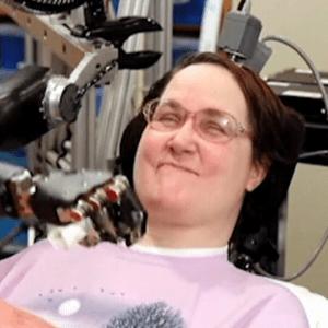 tetrapalegic, Tetraplegic Woman