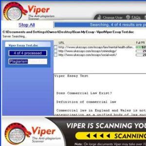 viper, Viper plagiarism