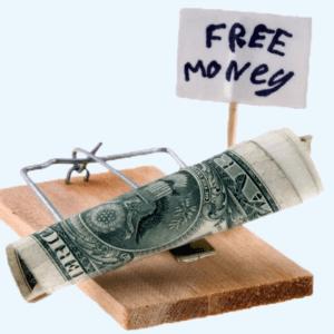 incentive trap, free money, bank free money