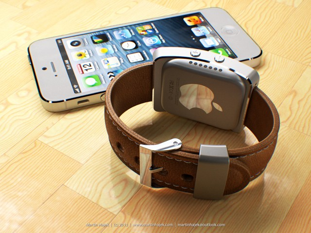 Stunning New Apple iWatch Concept Surfaces On The Web [IMAGES]