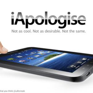 uk apology, iApologize, apple iApologize