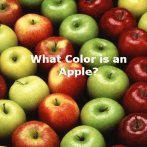 unfair, apple, color of apple