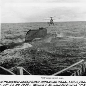 k19 sub, Soviet Submarine K-19 Nuclear Accident