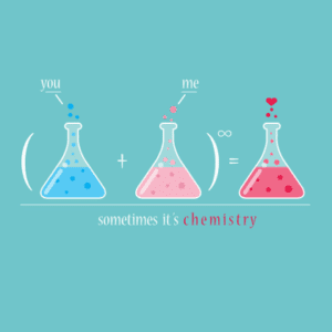love chemical reaction, chemistry, chemical reaction