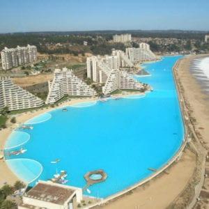 San Alfonso Del Mar Resort, outdoor swimming pool, largest swimming pool