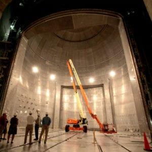 Plum Brook vacuum chamber, largest vacuum chamber