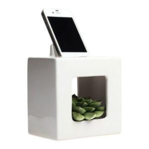 BloomBox iPhone Charging Docking Planter