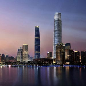 Chow Tai Fook Centre, Guangzhou, China