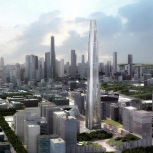 CTF Tianjin Tower, Tianjin, China