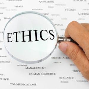 Honesty, ethics