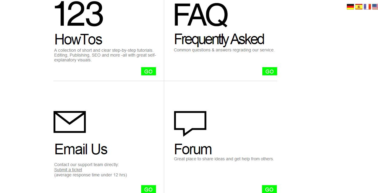 IM Creator, easy website building, website builder