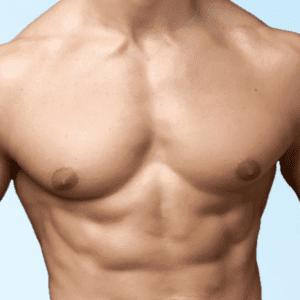 male nipples, male body