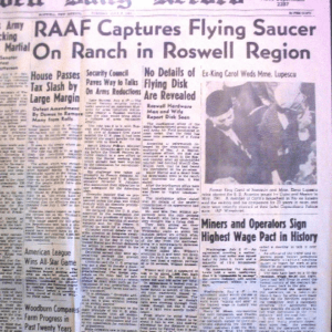 roswell, UFO, Space Exploration