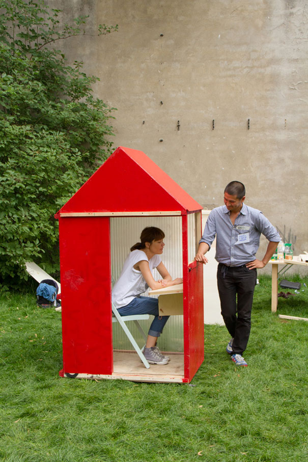 1sq Meter House, World's Smallest 1sq Meter House, Germany, World's Smallest house
