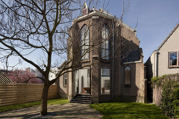 Church Converted Into Modern Family Home, Holland