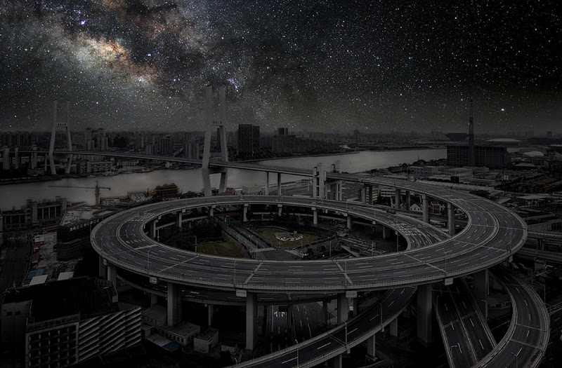 Cities with no light, cities, darkened cities, thierry cohen, dark cities, photography, astronomy