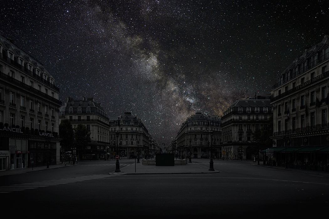 Darkened cities by Cohen, cities, darkened cities, thierry cohen, dark cities, photography, astronomy