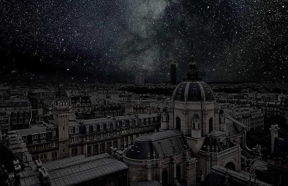 Darkened cities by Thierry Cohen, cities, darkened cities, thierry cohen, dark cities, photography, astronomy