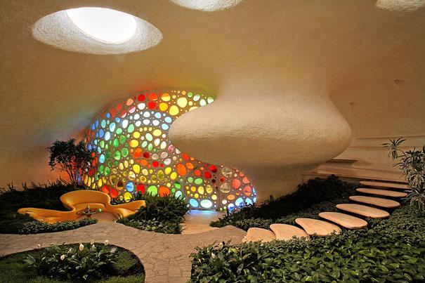 Giant Seashell House