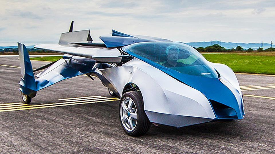 New Flying Car Spreads Its Wings In Slovakia 1