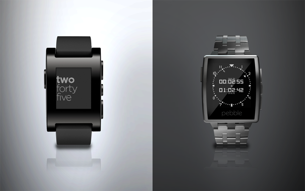 'Pebble Steel' The World's Best Smartwatch Gets Fashionable 1