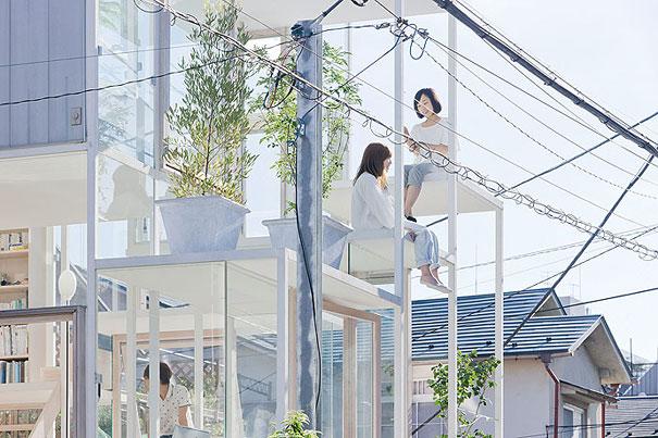 Transparent house in Japan, Transparent house