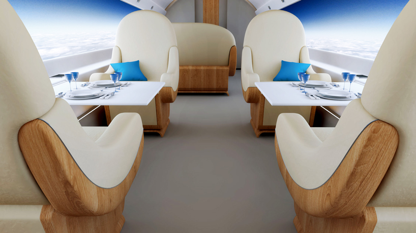 Cabin in S-512, Spike S-512, Spike, Spike Aerospace, S-512, Spike S-512, supersonic, supersonic jet, future technology