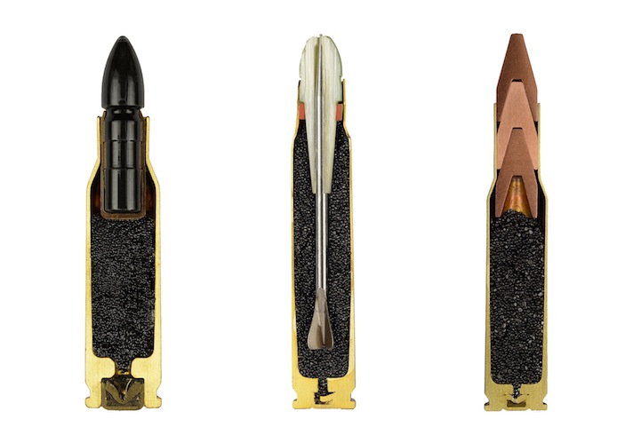 Photos of Bullets Precisely Split in Half 1
