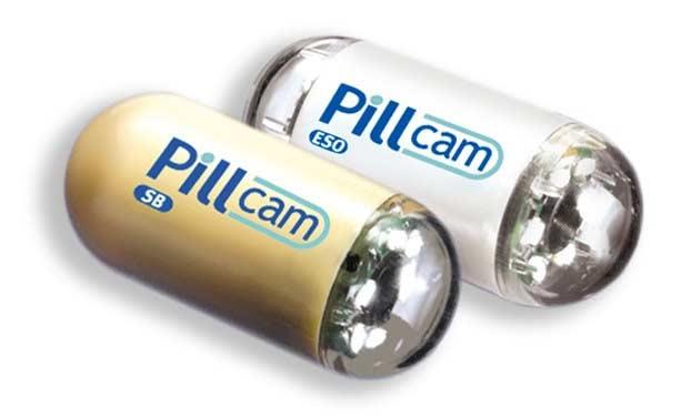 PillCam, PillCam Colon, PillCam endoscopy camera, PillCam camera